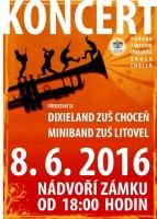 Koncert Dixieland ZUŠ Choceň a Miniband ZUŠ Litovel