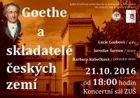 Goethe a skladatelé českých zemí