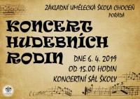 Koncert hudebních rodin