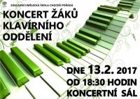 Koncert klavírního oddělení