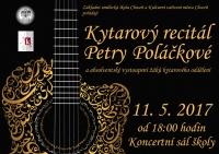 Kytarový recitál Petry Poláčkové