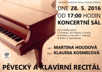Pěvecký a klavírní recitál